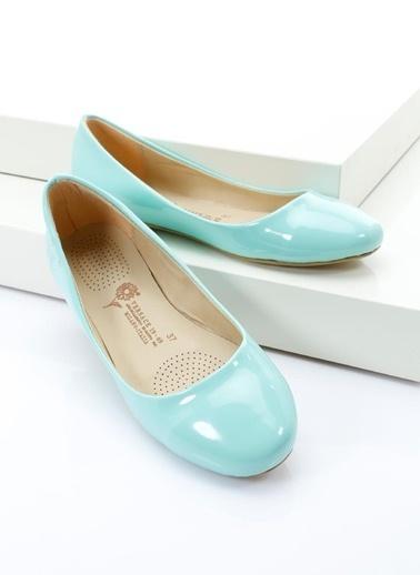 Italian Shoes Babet Yeşil